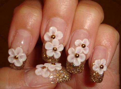 nail hoa dao cho co nang 25 tuoi - 2