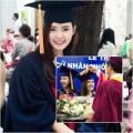 Làng sao - Midu rạng rỡ trong ngày tốt nghiệp Đại học