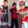 Làng sao - Con trai Bằng Kiều ngộ nghĩnh đón Halloween