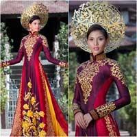 Hé lộ quốc phục chính thức của Trương Thị May