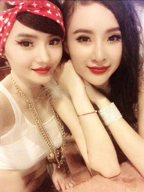 angela phuong trinh dan em gai di bar - 3
