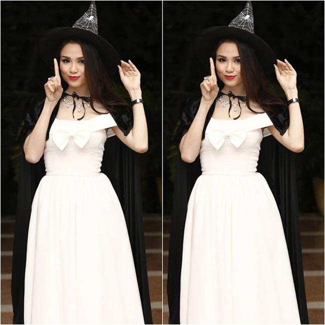 Có lẽ Diễm Hương là 'mụ phù thủy' xinh đẹp nhất thế gian.