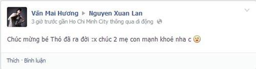 xuan lan da ha sinh con gai dau long - 5