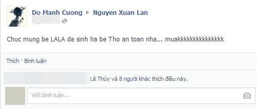 xuan lan da ha sinh con gai dau long - 7