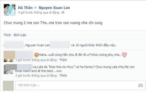 xuan lan da ha sinh con gai dau long - 6