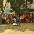 Tin tức - Hà Nội: Phụ nữ rơi từ tầng 7 xuống đất