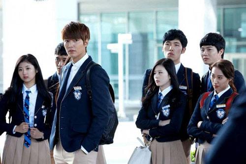"""fan phim """"the heirs"""" mac phai """"hoi chung kim tan"""" - 2"""