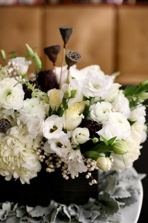 Cắm hoa hồng cho ngày cưới mê ly - 1