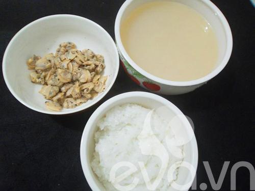 bua sang voi chao ngao nong hoi - 1