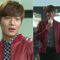 Gu thời trang mất điểm của Lee Min Ho trong 'The Heirs'