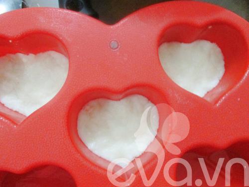 Bánh dừa trái tim tặng chàng nhé!-5