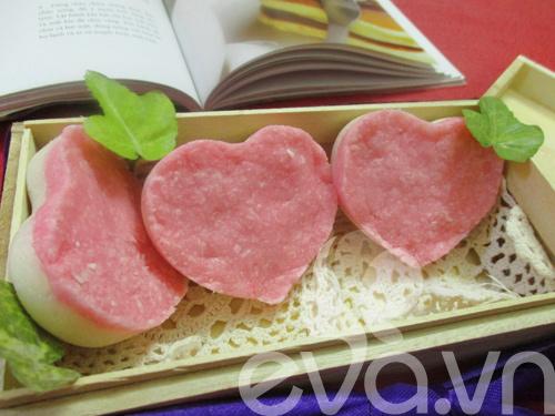 Bánh dừa trái tim tặng chàng nhé!-8