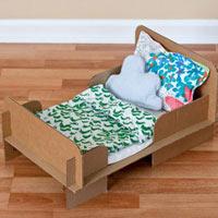 Làm giường búp bê cho bé cực dễ