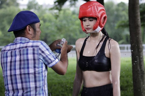truong quynh anh hoa than thanh vo si sexy - 7