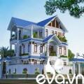 Không gian đẹp - 180m2 biệt thự Nam Định xây đáng tiền