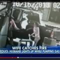 Tin tức - Mỹ: Chồng hút thuốc ở cây xăng, vợ bốc cháy