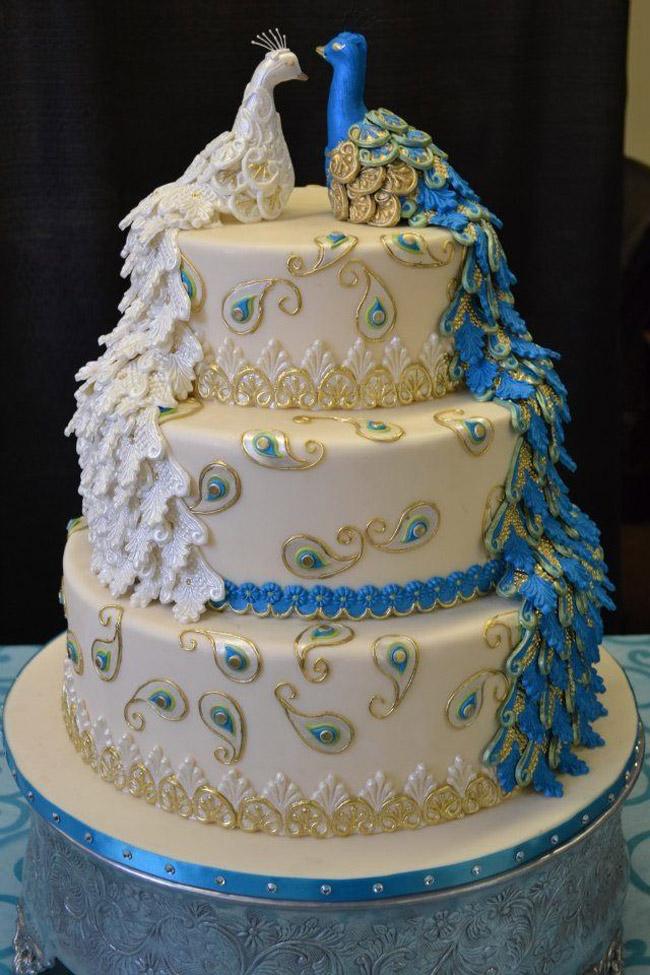 Ngất ngây với bánh cưới tuyệt đẹp