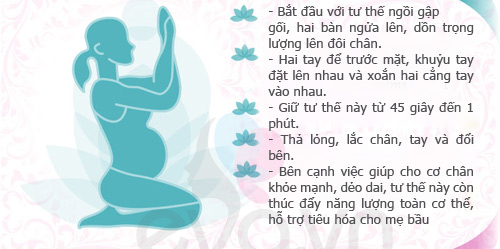 5 tu the yoga giup me bau mi nhon - 6