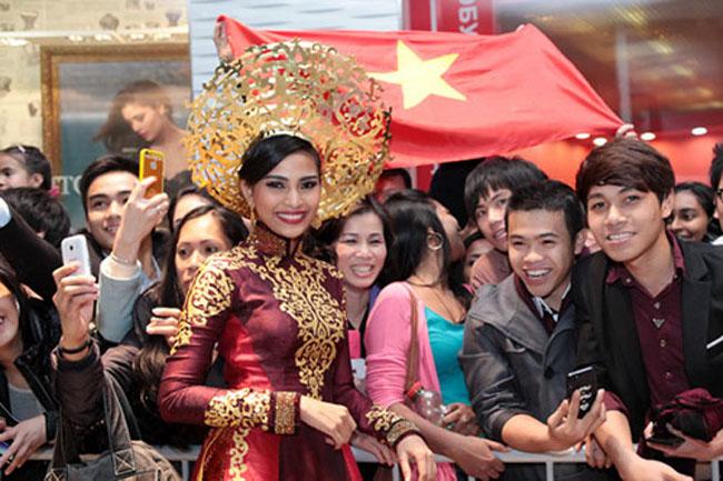 Dấu ấn của Trương Thị May tại Miss Universe