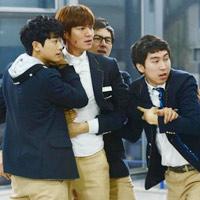 The Heirs: Hậu trường Lee Min Ho đánh Kim Woo Bin