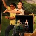 Làng sao - Ốc Thanh Vân vừa nhảy vừa dạy luật giao thông