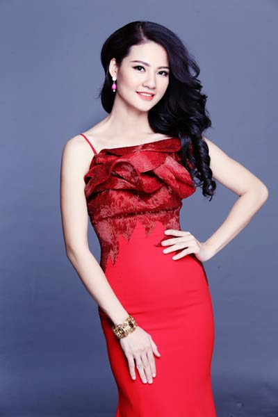 HH Trần Thị Quỳnh thi Hoa hậu Quý bà Thế giới-1