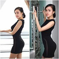Bà Tưng khoe eo thon sau phẫu thuật thẩm mỹ