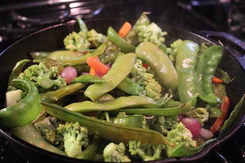 Ngon cơm với rau xào thập cẩm mùa đông - 2