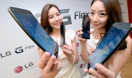 "smartphone ""cong"" lg g flex chinh thuc len ke ngay 12/11 - 1"