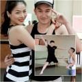"""Làng sao - Lệ Quyên """"bắt"""" Dương Triệu Vũ múa ballet"""