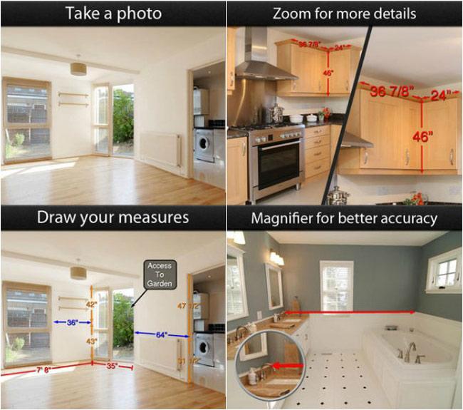 10 ứng dụng decor nhà tuyệt hay