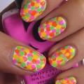 Làm đẹp - Rực rỡ, bắt mắt cùng nail neon đa sắc