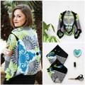 Thời trang - Eva khéo tay: Áo khoác từ khăn lụa ấn tượng