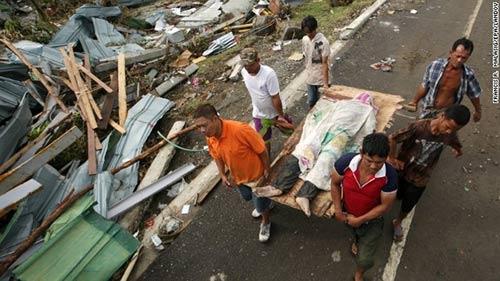 Ảnh, video: Philippines tan hoang sau siêu bão Haiyan - 3