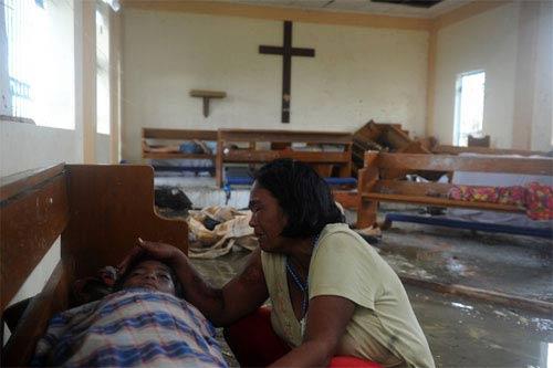 Ảnh, video: Philippines tan hoang sau siêu bão Haiyan - 4