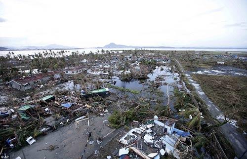 Ảnh, video: Philippines tan hoang sau siêu bão Haiyan - 5
