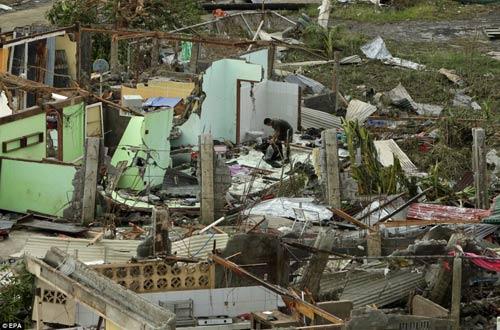 Ảnh, video: Philippines tan hoang sau siêu bão Haiyan - 8