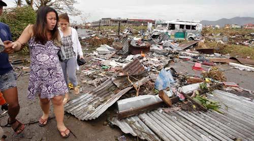 Ảnh, video: Philippines tan hoang sau siêu bão Haiyan - 14