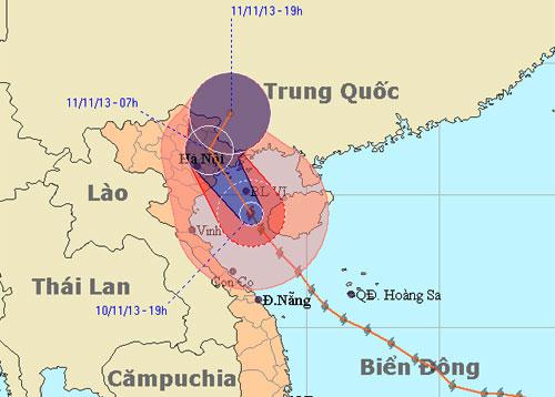 Gió bão rất lớn ở Hải Phòng, Quảng Ninh - 2