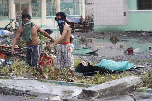 philippines: ngat tho vi tu thi boc mui sau bao haiyan - 1