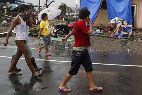 philippines: ngat tho vi tu thi boc mui sau bao haiyan - 2