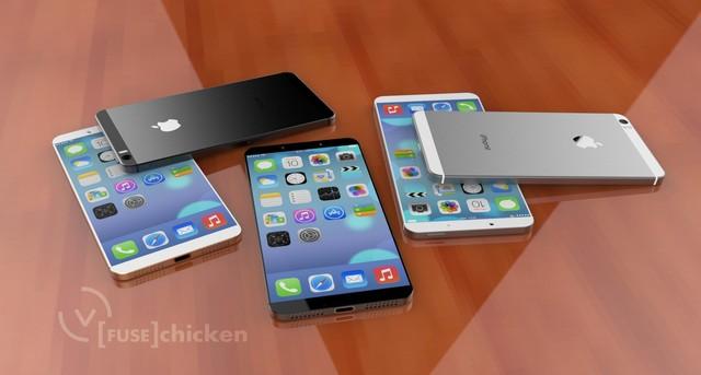 apple dang bi mat thu nghiem iphone man hinh lon - 1