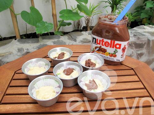 banh muffin chuoi ngon chay nuoc mieng! - 5