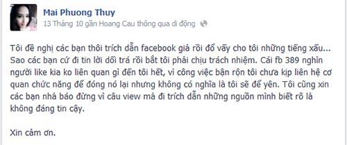 mai phuong thuy bi oan vi facebook gia mao - 2