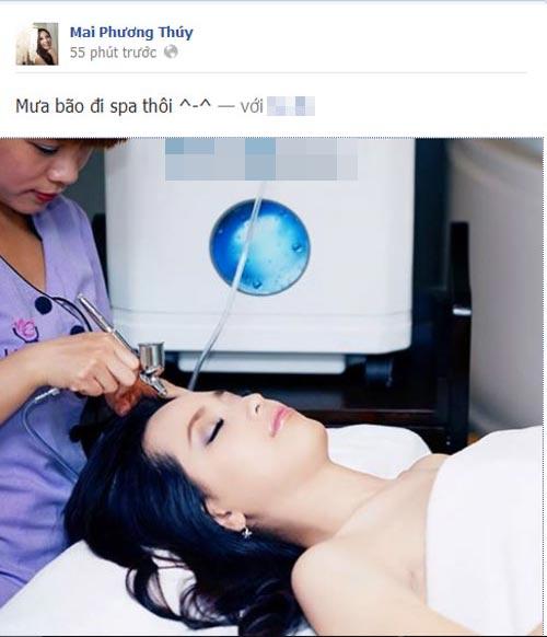 mai phuong thuy bi oan vi facebook gia mao - 1