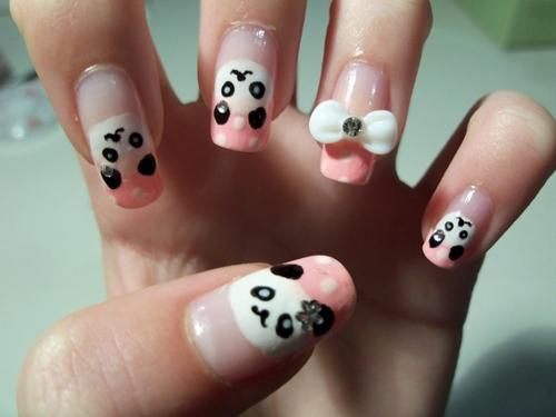 ve gau panda len mong chi mat 1 phut - 1