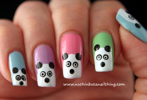 ve gau panda len mong chi mat 1 phut - 4