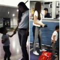 Làng sao - Hà Hồ đưa con trai đi khám bệnh