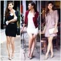 Thời trang - Chọn váy thu đông 'hợp mùa, hợp mốt'