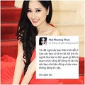 Làng sao - Mai Phương Thúy bị oan vì facebook giả mạo